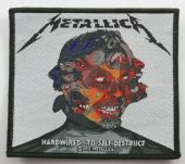 Metallica - 'Hardwired ...To Self Destruct' Woven Patch